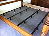 King Heavy Duty Waterbed Center Supports 4 Cross Members with Adjustable Legs