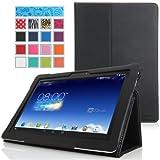 MoKo ASUS MeMO Pad FHD 10 ME302C Case - Slim Folding Cover Case for ASUS MeMO Pad FHD 10-Inch ME302 ME302C Tablet... by MoKo