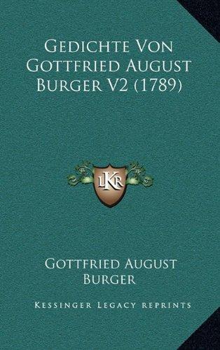 Gedichte Von Gottfried August Burger V2 (1789)