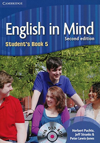 English in Mind 2nd  5 Student's Book with DVD-ROM