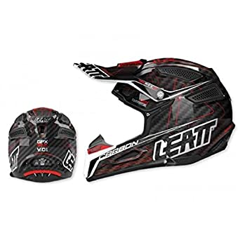 Casque leatt gpx 6.5 carbone noir/rouge t.xs - Leatt 433451XS