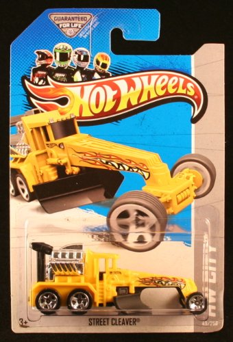 2013 Hot Wheels Hw City - Street Cleaver - 1