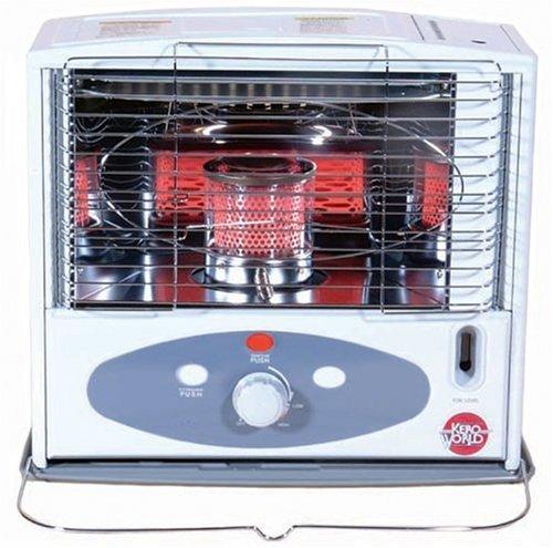 World Marketing KW-11F 10,000 BTU Radiant Heat Indoor Kerosene Heater (Portable Kerosene Heater Wicks compare prices)