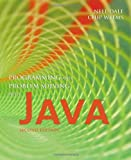 img - for Programming And Problem Solving With Java book / textbook / text book