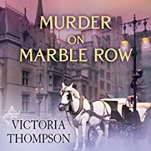 Murder on Marble Row: Gaslight Mystery Series #6 Audiobook by Victoria Thompson Narrated by Callie Beaulieu