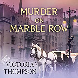 Murder on Marble Row Audiobook