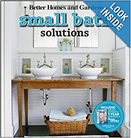 Small Bath Solutions (Better Homes & Gardens Decorating) Paperback by Better Homes and Gardens (Author)