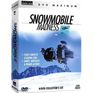Snowmobile Madness 4 DVD Boxed Set movie