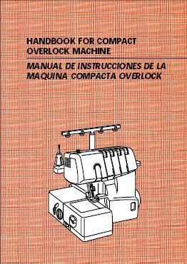 Brother Sewing Machine Model 1034D Instruction Manual