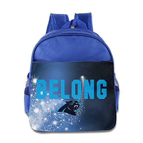 Carolina Panthers Logo Children Backpack RoyalBlue Bag