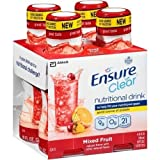 Ensure Clear Nutrition Drink Bottles Mixed Fruit, 3.12 Pound