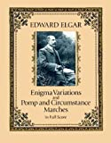 img - for Enigma Variations and Pomp and Circumstance Marches in Full Score (Dover Music Scores) book / textbook / text book