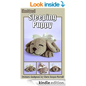 Knitted Sleeping Puppy Knitting Pattern
