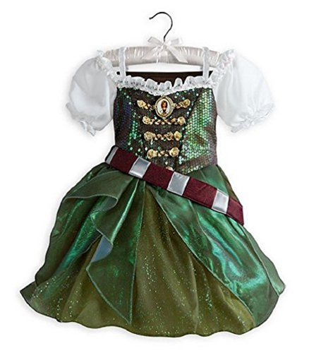 Disney Store Zarina the Pirate Fairy Costume Dress Tinkerbell Size 2 - New