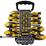 Advanced Stanley 49 Piece Screwdriver Set with Compact Pen 4 in 1 Pocket Screwdriver