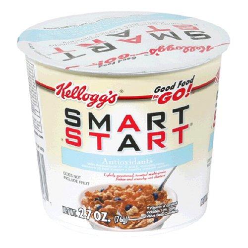 Kellogg's Smart Start Antioxidants Cereal, 2.7-Ounce Cups