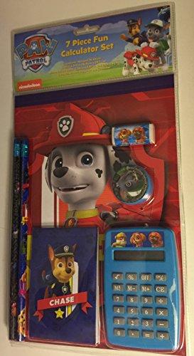 Paw Patrol 7 Piece School Stationary set