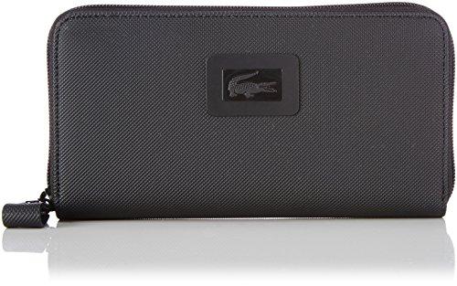 LACOSTE Women's Classic Large Zip Wallet Black