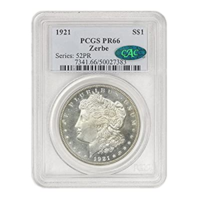 1921 P Morgan $1 PR-66 PCGS/CAC