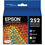 Epson DURABrite Ultra Standard-Capacity Ink Cartridge Black And Color Multipack (T252120-BCS)