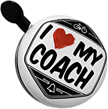 Bicycle Bell I Love my Coach by NEONBLOND