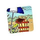 PosterGuy Beach Adventure Illustration Coaster