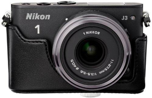 Amazon.co.jp限定Nikon デジタル一眼カメラ Nikon1 J3+11-27.5ズームセットA BK N1J3+11-27.5BKZKA