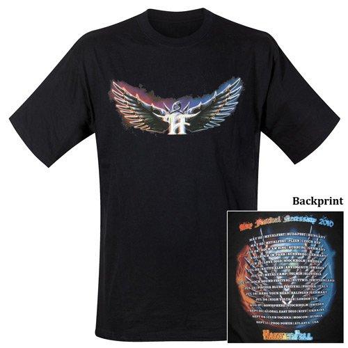 Hammerfall - T-Shirt Any Festival Necessary 2010 (in S)