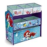 Disney Little Mermaid Multi-Bin Toy Organizer
