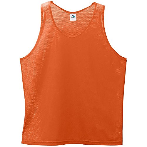 BOYS' MINI MESH SINGLET Augusta Sportswear L Orange