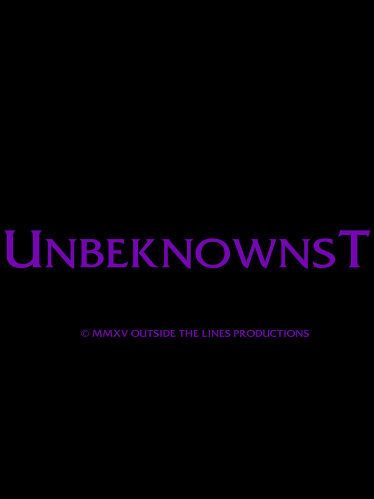 Unbeknownst on Amazon Prime Instant Video UK