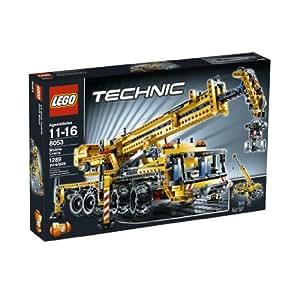 amazoncom lego technic mobile crane 8053 toys amp games