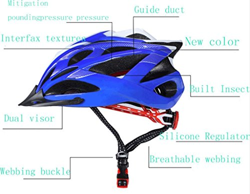 Mountain bike riding bicycle helmet integrally molded with Insect helmet cap men and women riding equipment