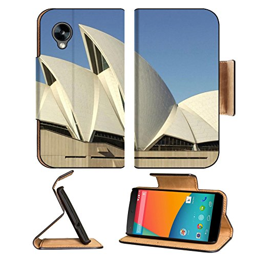 Architecture Australia Sydney Opera House Google Nexus 5 Hammerhead Lg Flip Case Stand Magnetic Cover Open Ports Customized Made To Order Support Ready Premium Deluxe Pu Leather 5 11/16 Inch (145Mm) X 2 15/16 Inch (75Mm) X 9/16 Inch (14Mm) Msd Nexus Cover