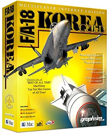 F/A-18 Korea Gold (Mac)