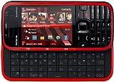 Nokia 5730 Xpress Music Smartphone (UMTS, Bluetooth, GPS, Nokia Maps, Kamera mit 3,2 MP, QWERTZ-Tastatur)  black/red
