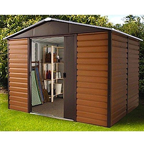 gartenhaus metall design. Black Bedroom Furniture Sets. Home Design Ideas