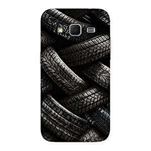 Enticing Knot Tyre Back Case Cover for Galaxy Core Prime