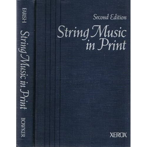 String Music in Print