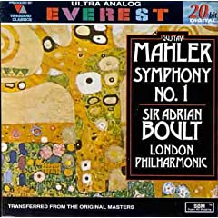 Mahler: Symphony No.1 [UK-Import]