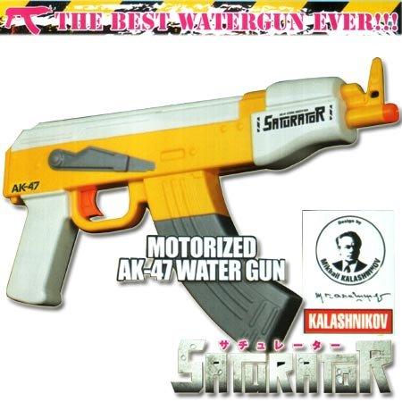 電動ウォーターガン サチュレーター STR80 AK-47 レングスジャパン
