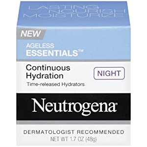 Neutrogena Ageless Essentials Continuous Hydration, Night, 1.7 Ounce
