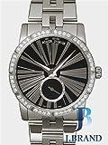 [ロジェデュブイ]ROGER-DUBUIS 腕時計 エクスカリバー36 オートマティック ジュエリー ベゼルダイヤ ブラック RDDBEX0376 ボーイズ [並行輸入品]