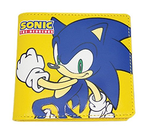 [Great Eastern Entertainment Sonic The Hedgehog Sonic Wallet] (Hedgehog Costume For Kids)