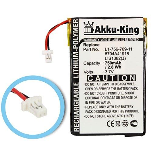 Akku-King Akku für Sony eBook Reader PRS-500, PRS-505, PRS-700 - ersetzt 1-756-769-11, 8704A41918, LIS1382(J) - Li-Polymer 750mAh