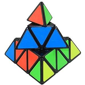 WayIn® Popular Magic Cube Set Speed Cube Puzzle Pack-Pyraminx,mirror 3x3,Mastermorphix,Skewb,Megaminx Dodecahedron