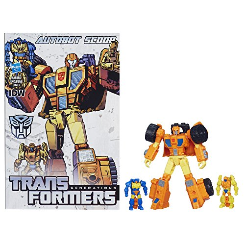 Transformers Generations Deluxe Class Autobot Scoop Figure
