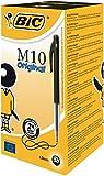 Bic M10 Clic-Medium Stylo-bille rétractable Noir