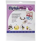Grafix KSF6-CIJ 8-1/2-Inch by 11-Inch Shrink Film, Printable, Clear Inkjet, 6-Pack