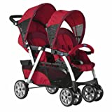 Twin stroller Chicco Together Fire